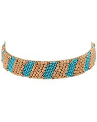 Deepa Gurnani Halia Choker Necklace