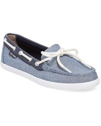 Cole Haan - Nantucket Chambray Boat Shoe - Lyst