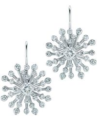 Kwiat - Stella 18k White Gold 1.30 Ct. Tw. Diamond Earrings - Lyst
