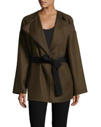 Isabel Marant - Wool Belted Coat - Lyst