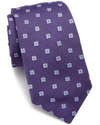 Ike Behar - Floral Silk Tie - Lyst