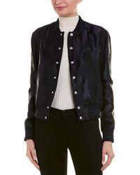 Versus - Versus By Versace Jacquard Burnout Wool-blend Jacket - Lyst