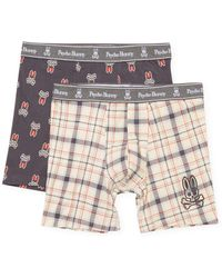Psycho Bunny - Knit Boxer Brief - Pack Of 2 - Lyst