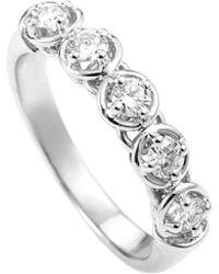 Damiani - 18k 0.40 Ct. Tw. Diamond Ring - Lyst