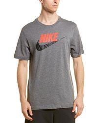 f9405af1 Nike Sportswear Futura Hooded T-shirt in Green for Men - Lyst