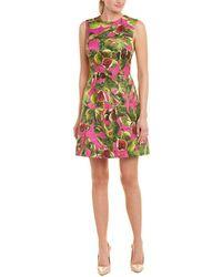 Dolce & Gabbana Brocade Silk-blend A-line Dress