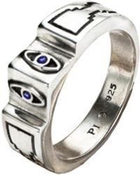Pamela Love - Illuminas 2 Eye Ring - Lyst