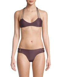Mikoh Swimwear - Top - Banyans - Multi String Racerback Top - Lyst