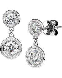 Nephora - 14k 0.36 Ct. Tw. Diamond Drop Earrings - Lyst