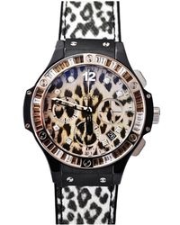Hublot - Big Bang Snow Leopard Women's Watch - Lyst