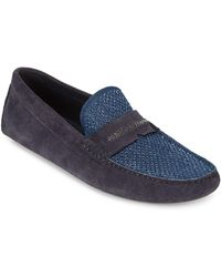 John Galliano   Perforated Leather Moccasins   Lyst