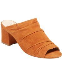 Alexandre Birman - Leather Slip-on Mule Sandal - Lyst