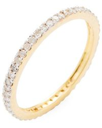 Adornia - Fine Jewelry 14k Eternity Ring - Lyst