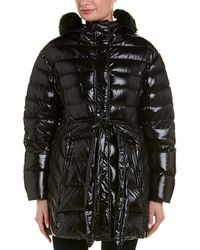 Moncler Belted Puffer Coat