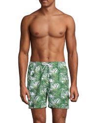 Trunks Surf & Swim - Jungle Leaves Sano Swim Shorts - Lyst