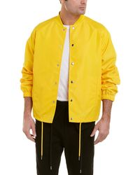 Helmut Lang Ruched Coach Jacket