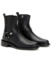 Aquatalia - Alexa Waterproof Burnished Leather Boot - Lyst