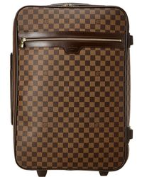 Louis Vuitton - Damier Ebene Canvas Pegase 60 - Lyst