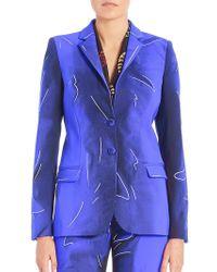 Alberta Ferretti - Tailored Two-button Jacket - Lyst