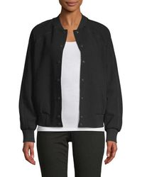 KENZO - Embroidered Bomber Jacket - Lyst