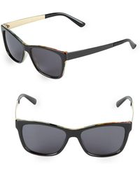 Gucci - 52mm Butterfly Sunglasses - Lyst