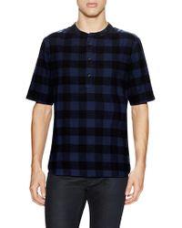 Alternative Apparel - Crusade Short Sleeve Flannel Shirt - Lyst