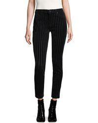 Hudson Jeans - Nico Striped Cotton Jeans - Lyst