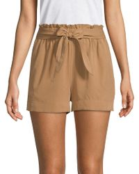 BCBGMAXAZRIA - Paperbag Shorts - Lyst