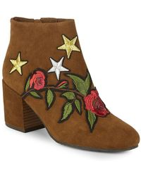 Gentle Souls - Blaise Patches Booties - Lyst