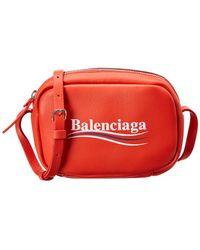 Balenciaga - Xs Campaign Everyday Leather Camera Bag - Lyst