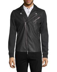 Armani Exchange - Motorcycle Jacket - Lyst