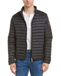 Save The Duck Puffer Jacket - Black