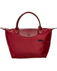Longchamp - Le Pliage Club Small Nylon Top Handle Tote - Lyst