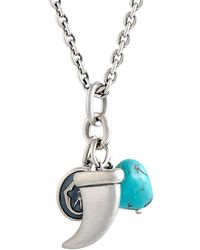 Charriol - Stainless Steel Turquoise Necklace - Lyst