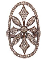 Adornia - Fine Jewelry Silver Ring - Lyst