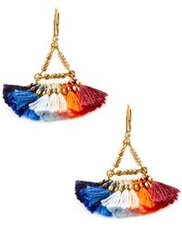 Shashi - Bella Statement Earrings - Lyst