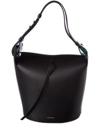 Burberry - Medium Leather Bucket Bag - Lyst f2b4d7ebf14bf