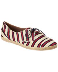 Tabitha Simmons - Dolly Striped Trainer - Lyst