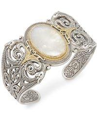 Konstantino - Erato 18k Yellow Gold & Sterling Silver Cuff Bracelet - Lyst