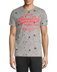 Superdry - Premium Goods Paint Splatter T-shirt - Lyst