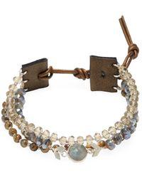 Chan Luu - Beaded Semi-precious Stone Bracelet - Lyst