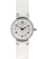 Louis Vuitton - Vintage Tambour Forever Watch, 27mm - Lyst