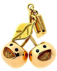 Louis Vuitton - Louis Vuitton 18 K Limited Edition Cherry Charm - Lyst