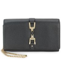Sam Edelman - Leather Convertible Chainlink Wallet - Lyst