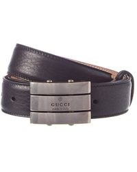Gucci - Leather Belt - Lyst