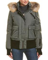 Nicole Benisti Fordham Leather-trim Jacket