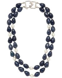 Kenneth Jay Lane - Gemstone Statement Necklace - Lyst
