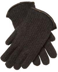 John Varvatos - Cashmere Shearling-lined Gloves - Lyst