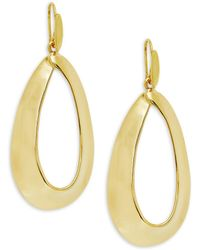 Robert Lee Morris - Oval Cut-out Earrings - Lyst