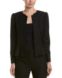 Rebecca Taylor - Pinstripe Jacket - Lyst